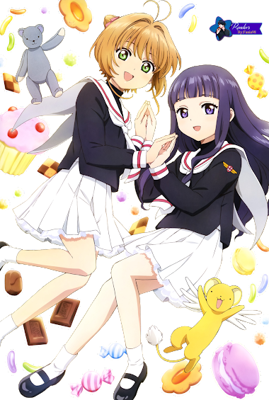 Sakura,Tomoyo y Kero Render
