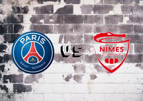 PSG vs Nîmes   Resumen Y Partido Completo
