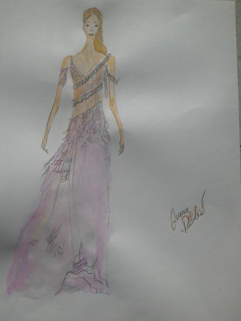 #fashionillustration #modaodaradosti #modnailustracija #akvarel #watercolour