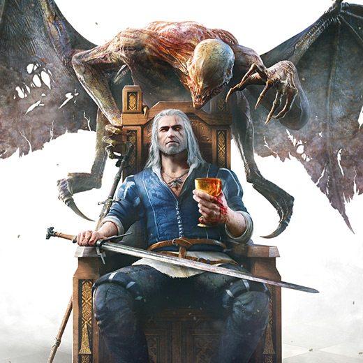 Blood and Wine Geralt Wallpaper Engine