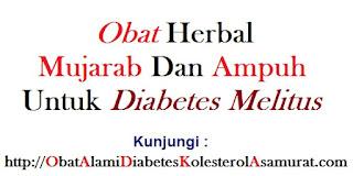 Obat herbal mujarab dan ampuh untuk Diabetes melitus
