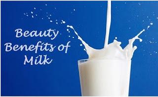 manfaat susu untuk wajah, kulit, rambut
