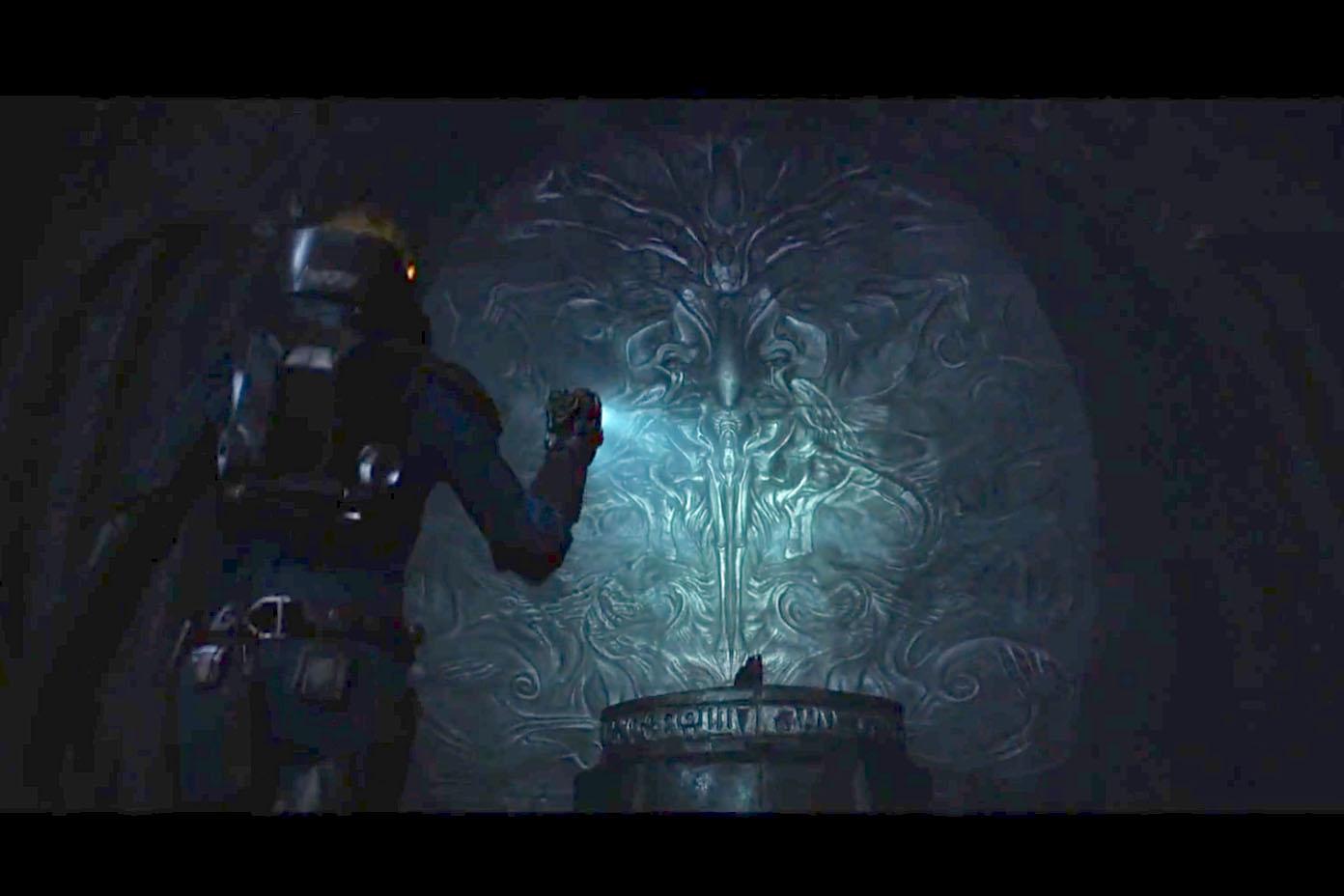 Cody 39 s film tv and video game blog for Prometheus xenomorph mural