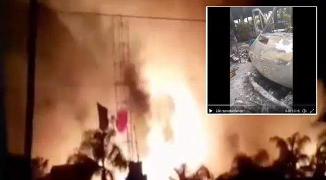 Por andar apoyando a El CJNG decía la advertencia en narcomensaje Sicarios llegan y queman restaurante con personas dentro en tierras de El Marro