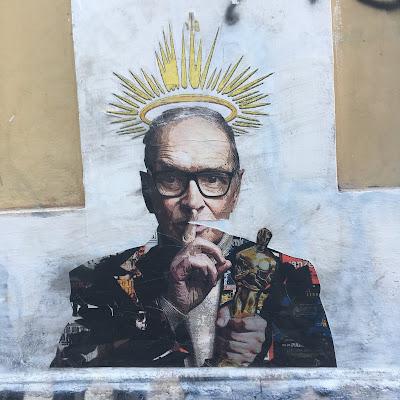 Street Art Ennio Morricone