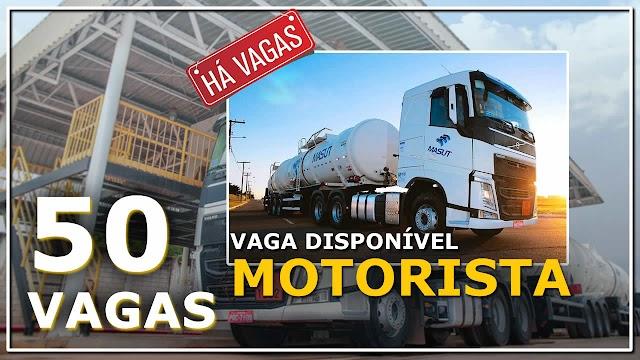 Masut Transportes abre 50 vagas para Motorista em 6 Estados