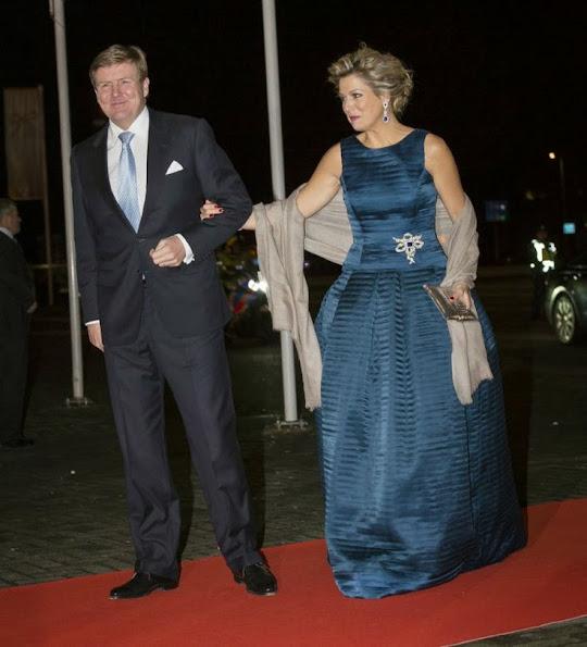 Dutch Royals at a celebration of the reign of Princess Beatrix