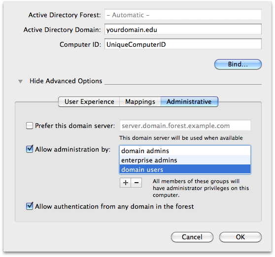 No Easy Search: Binding To An Active Directory Domain With