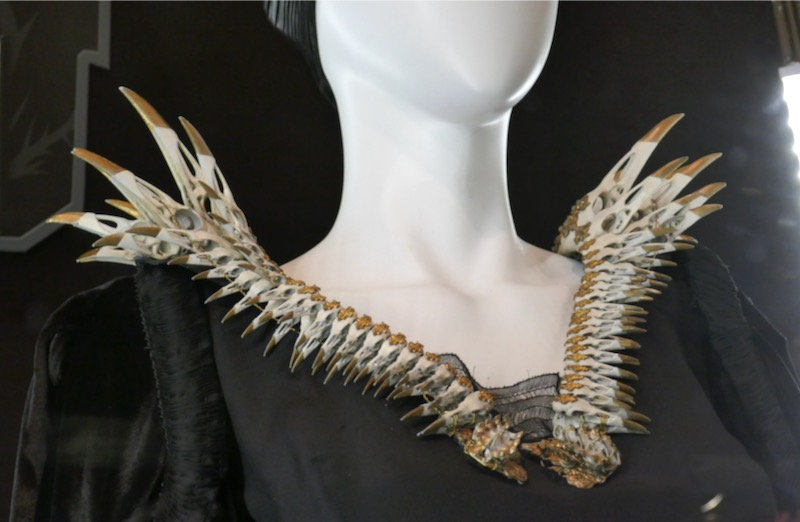Maleficent Mistress of Evil dinner costume bone collar