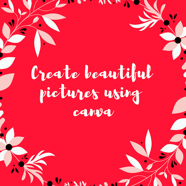 Create images for social media using Canva