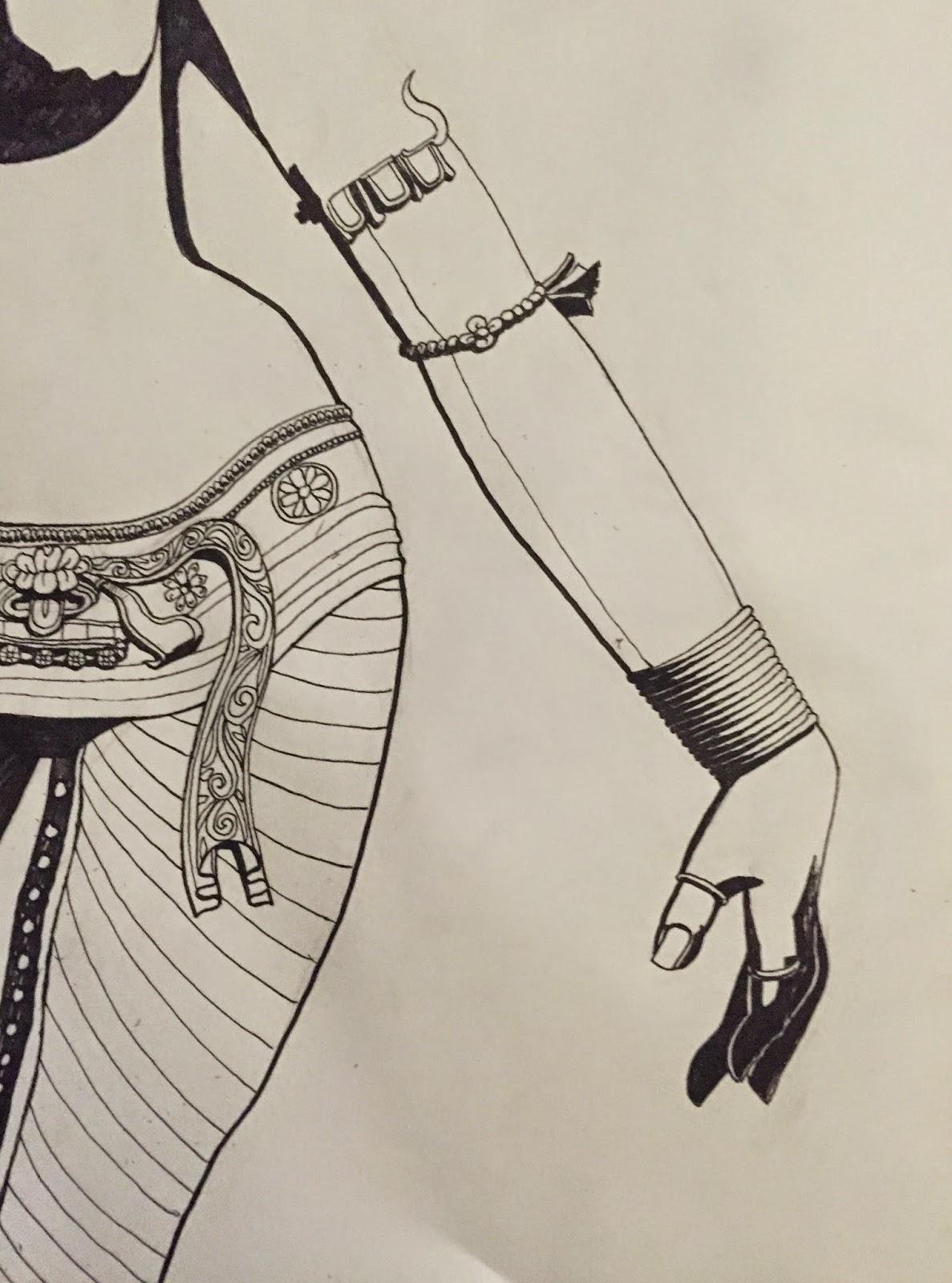 The Opposite Machine Shiva Sketch