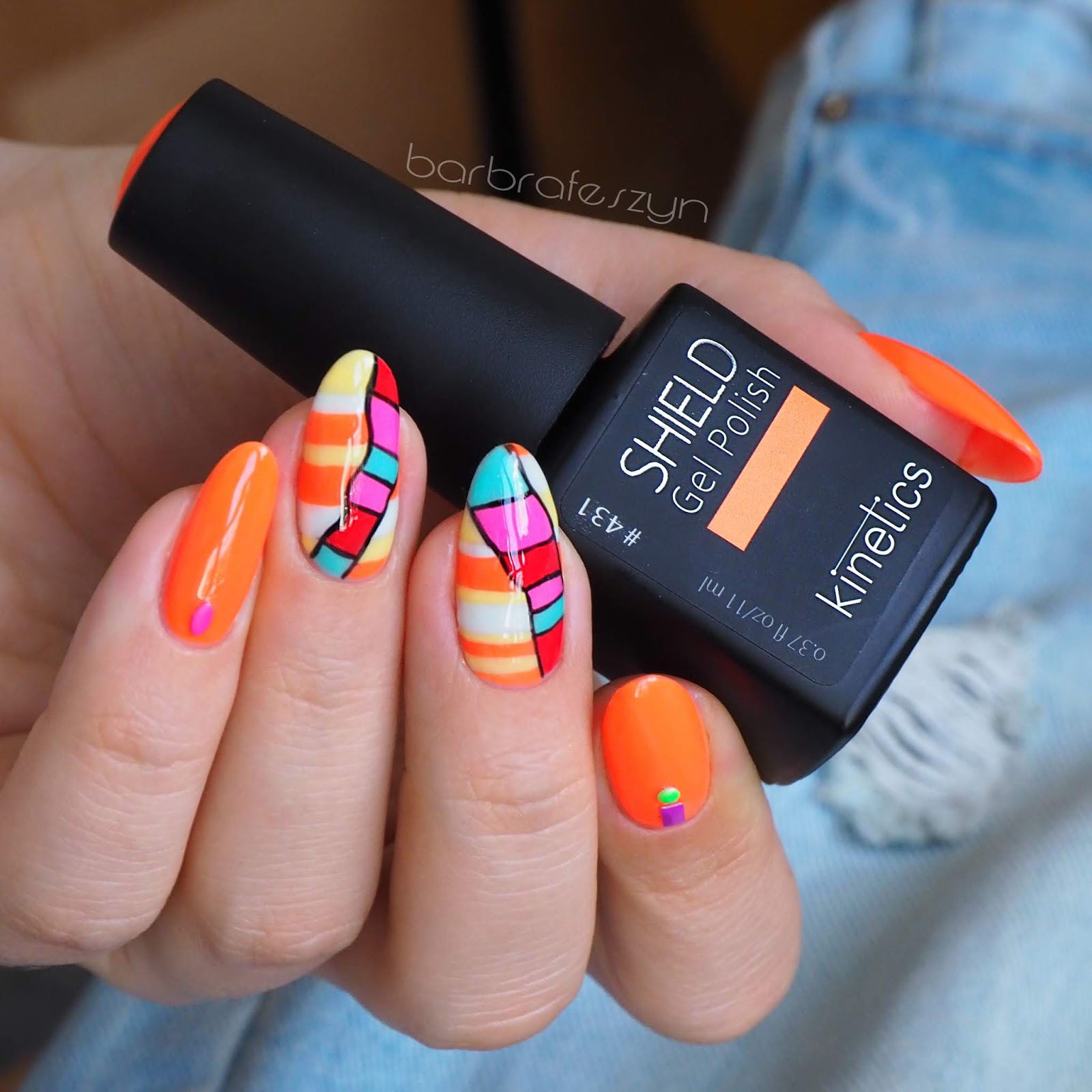 Kolorowe Paznokcie Na Lato Barbrafeszyn Blog O Paznokciach