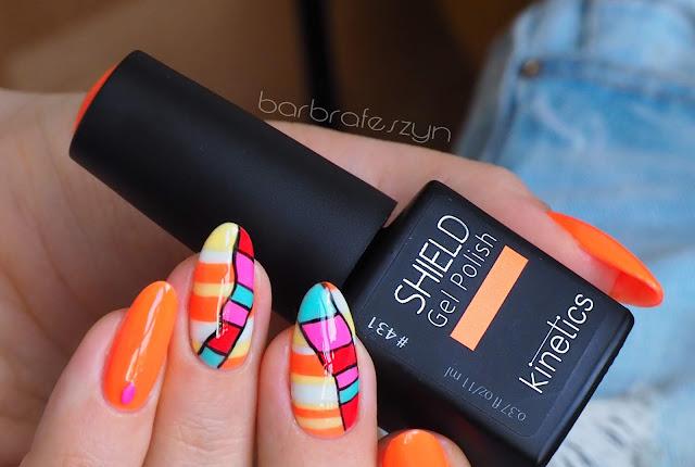 Kolorowe paznokcie na lato