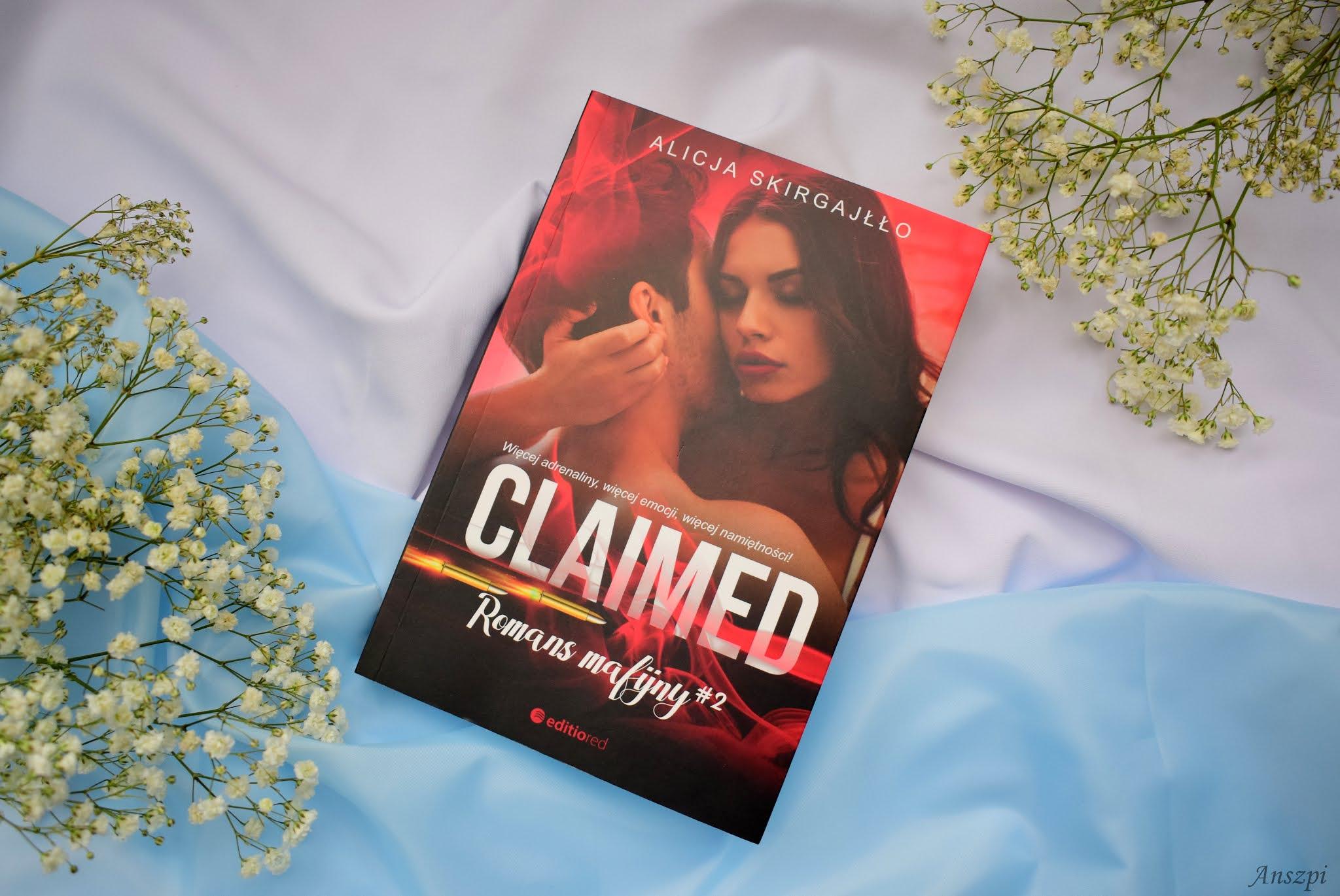 recenzja książlo Claimed alicja skirgajłło