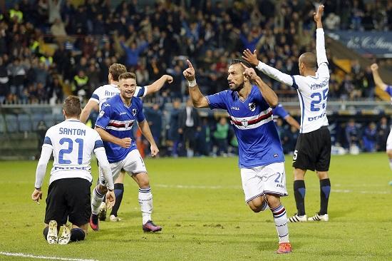Sampdoria đang có phong độ lên cao.