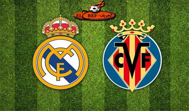 مباراة ریال مدريد وفياریال اليوم بتاريخ 21-11-2020 في الدوري الاسباني