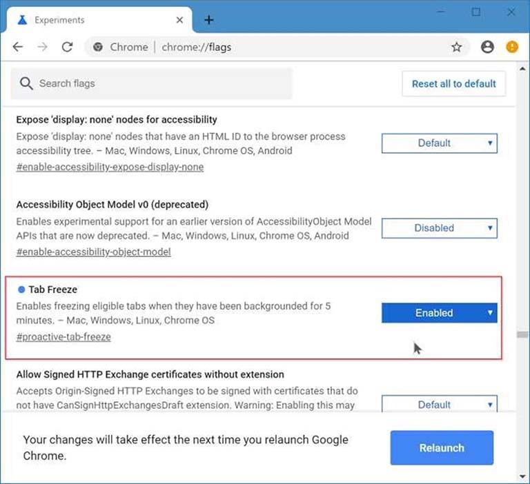 Cara Mengaktifkan Tab Freeze Untuk Mengurangi Penggunaan Memori Chrome