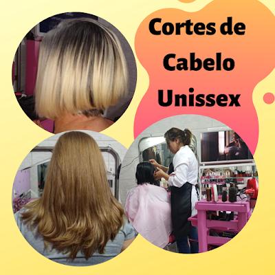 Corte de cabelo unissex