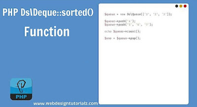 PHP Ds\Deque::sorted() Function