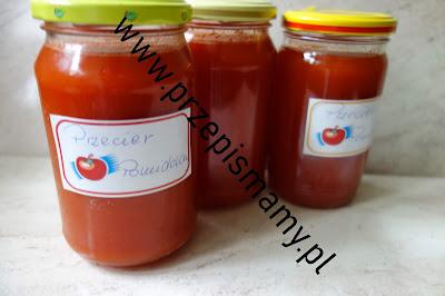 Domowy koncentrat pomidorowy