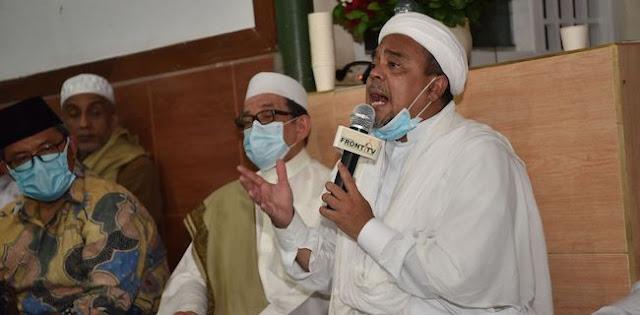 Pentolan PKS Sowan Ke Petamburan, Habib Salim Segaf: Kami Tak Kuasa Menahan Rindu 3,5 Tahun