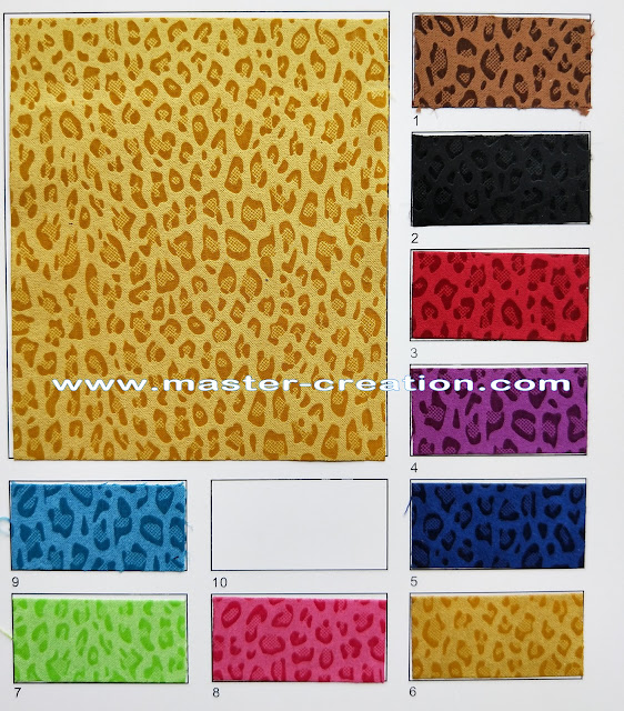 leopard skin patterns material