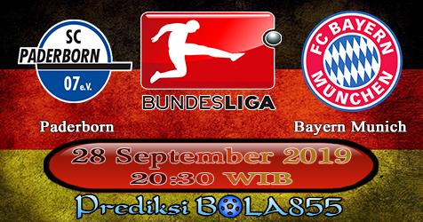 Prediksi Bola855 Paderborn vs Bayern Munich 28 September 2019