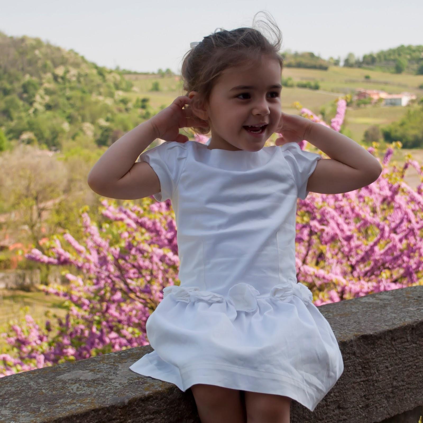 5ff62f7e4fb8 Miss Pois e la cerimonia  idea look per la tua bambina tutta da copiare!