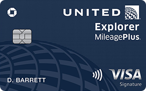 Review Chase United Explorer Credit Card [70,000 Bonus United Miles & $0 First Year Annual Fee]