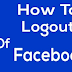 Facebook Com Log Out