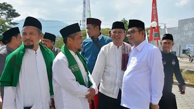 Wakil Gubernur Jabar Resmikan Mesjid Aljabbar Cimangkok Sukabumi