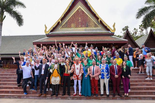 Loro Parque recibe en sus instalaciones a las delegaciones del carnaval alemán
