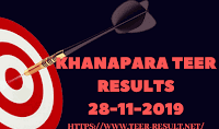 Khanapara Teer Results Today-28-11-2019
