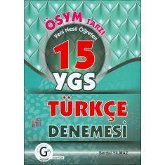 Gür YGS 15 Türkçe Denemesi