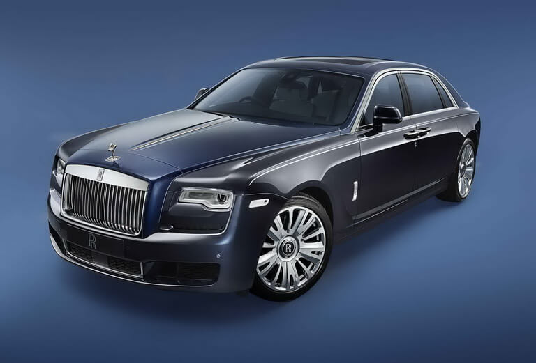 Very Exclusive and Special, Rolls-Royce Limit Ghost Zenith Collection Only 50 Units