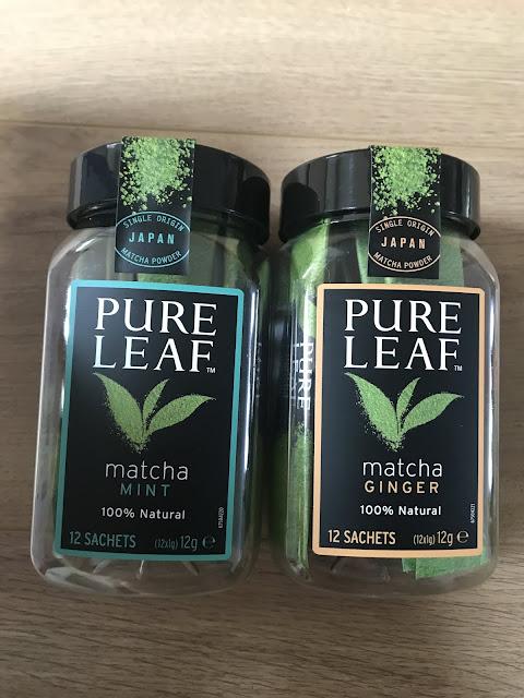 Pure Leaf Matcha Mint/Matcha Ginger - £8.99 Degustabox November 2019