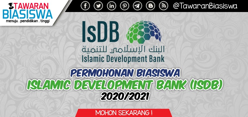 Permohonan Biasiswa Bank Pembangunan Islam (IsDB)