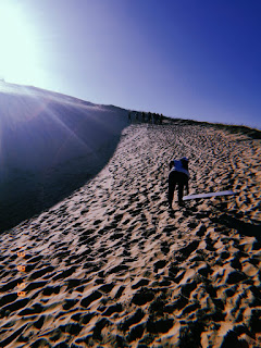 South african lifestyle blog, eastern cape tourist attractions, dunes in the eastern cape, where to sand board in south africa