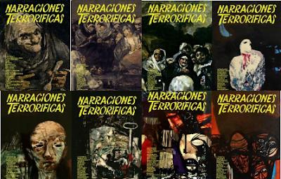 Los mejores relatos de terror de la Historia en 10 Tomos.