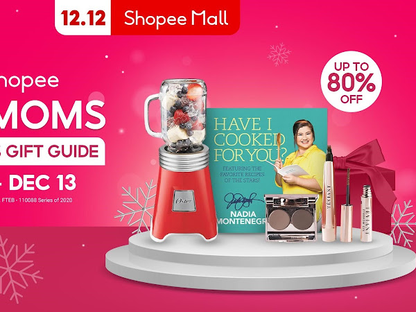 SHOPEE: Meaningful Christmas Gifts Moms Will Love