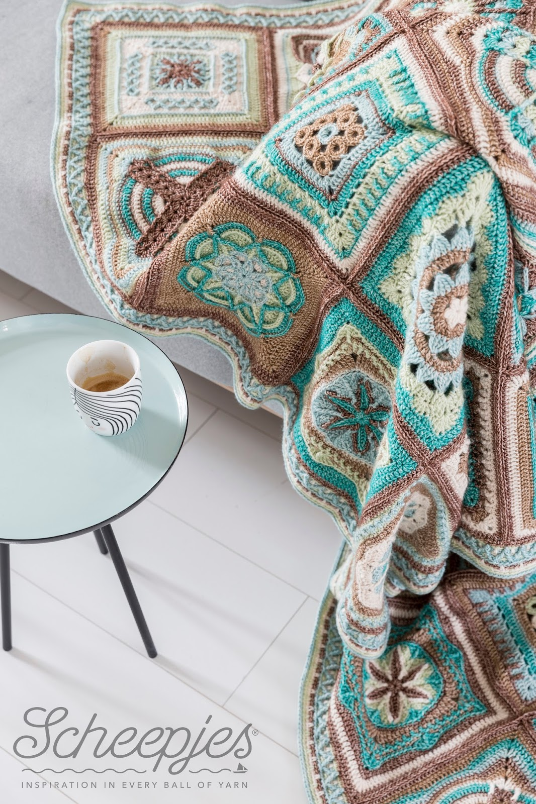 """Esther Dijkstra of It's All In A Nutshell: """"Crochet is a mathematic craft"""""""
