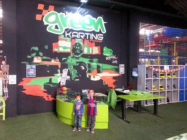 Green karting indoor les Franqueses del Vallés