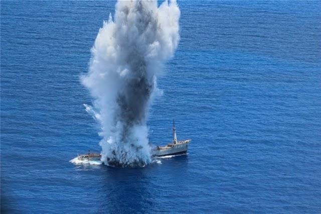 Νότια Κάρπαθος: Μήνυμα με αποδέκτη την Τουρκία, η άσκηση του Πολεμικού Ναυτικού και της Αεροπορίας.