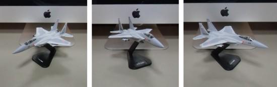 ミニチュア軍用機(1/100スケール1機種)