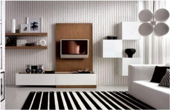 Gambar Desain Interior Ruang Keluarga Ukuran Kecil Terbaru 2017