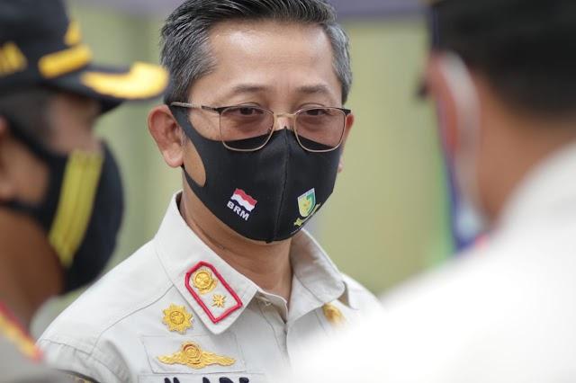 Satpol PP Jabar Gelar Operasi Gabungan Yustisi Protokol Kesehatan di Purwakarta dan Karawang