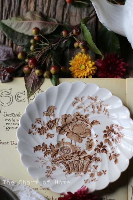 September Tea/Garden Journal: The Charm of Home