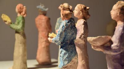 Έκθεση της Κλειούς Μακρή στο Αρχαιολογικό Μουσείο Αίγινας