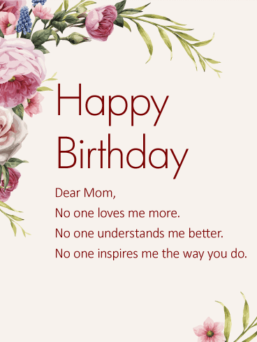 Astounding 100 Deep Birthday Wishes For Mom In 2020 Sincere Lovely Funny Birthday Cards Online Fluifree Goldxyz