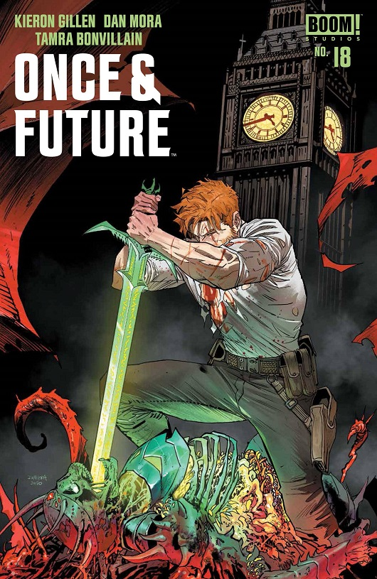 Cover of Once & Future #18